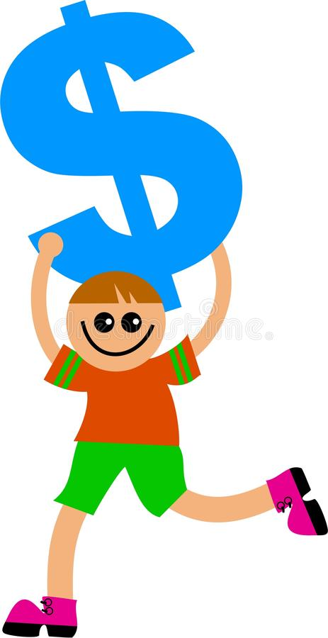 Dollar Kid Stock Images