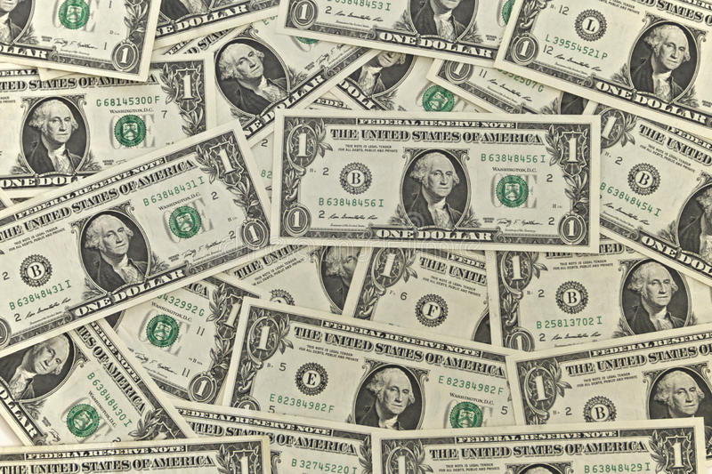 Dollar Notes stock images