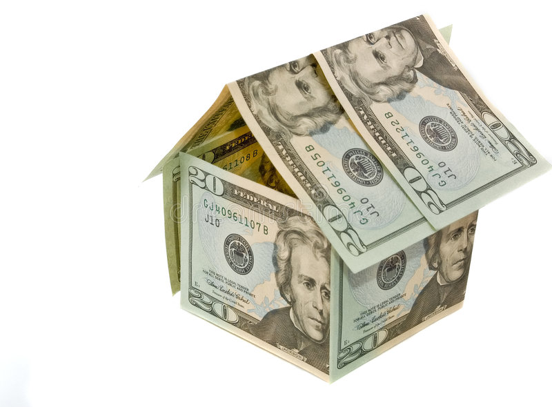 Download Dollar Paper Home - Real Estate Concept Stock Photo - Image: 4739384