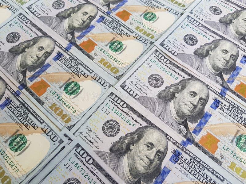 Dollar pengarbakgrund royaltyfria bilder