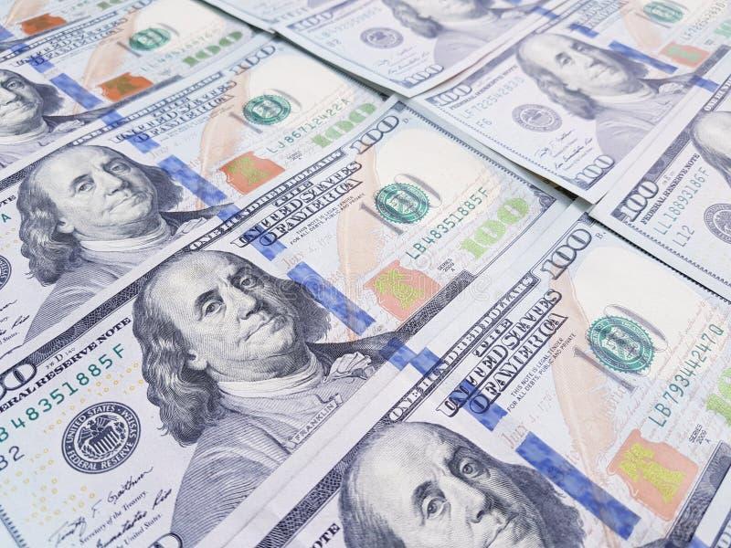 Dollar pengarbakgrund royaltyfria foton