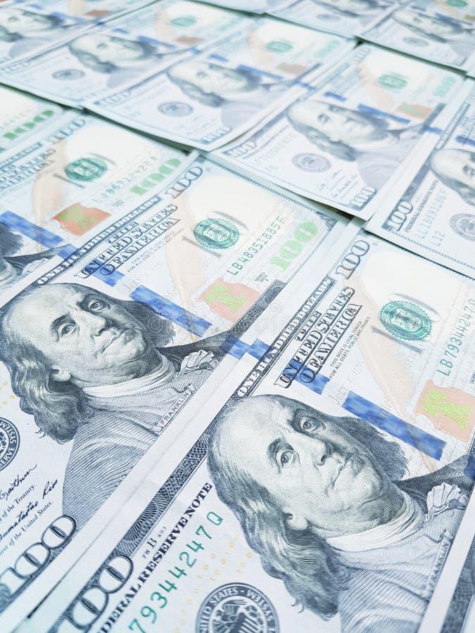 Dollar pengarbakgrund royaltyfri foto