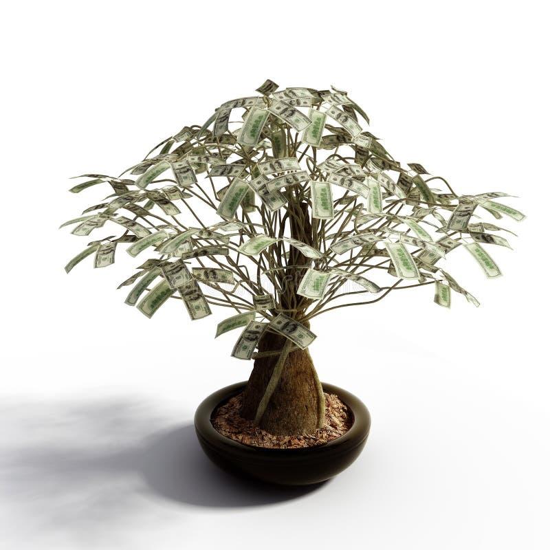 dollar pengartree stock illustrationer