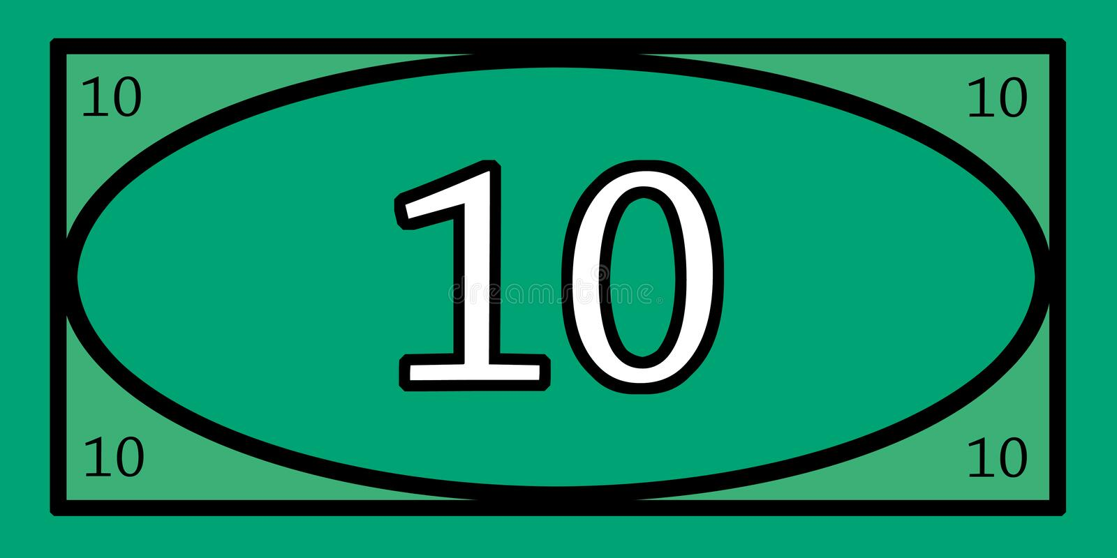 10 dollar play money stock image image of price plus 86096117 rh dreamstime com free play money clipart Money Background