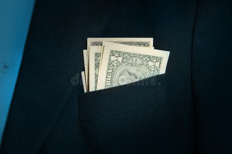 Download Dollar in the pocket stock photo. Image of group, green - 35468998