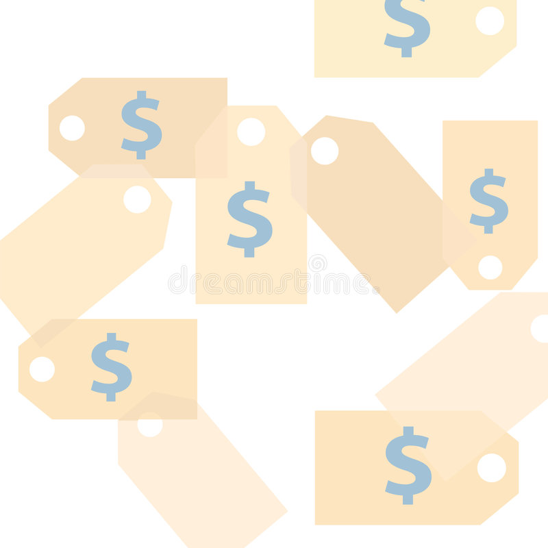Download Dollar Price Tag Background Stock Vector - Image: 2941404