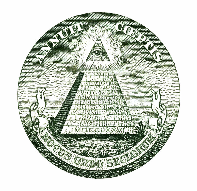 Free Dollar Pyramid Stock Photos - 24184043