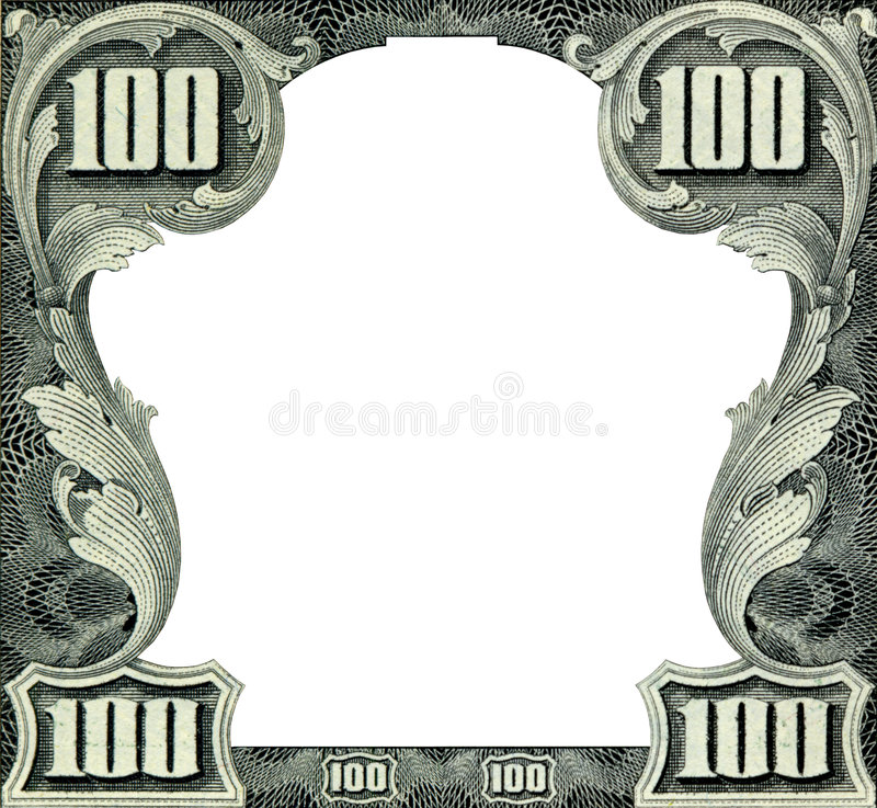 Download Dollar ram fotografering för bildbyråer. Bild av close - 6984865