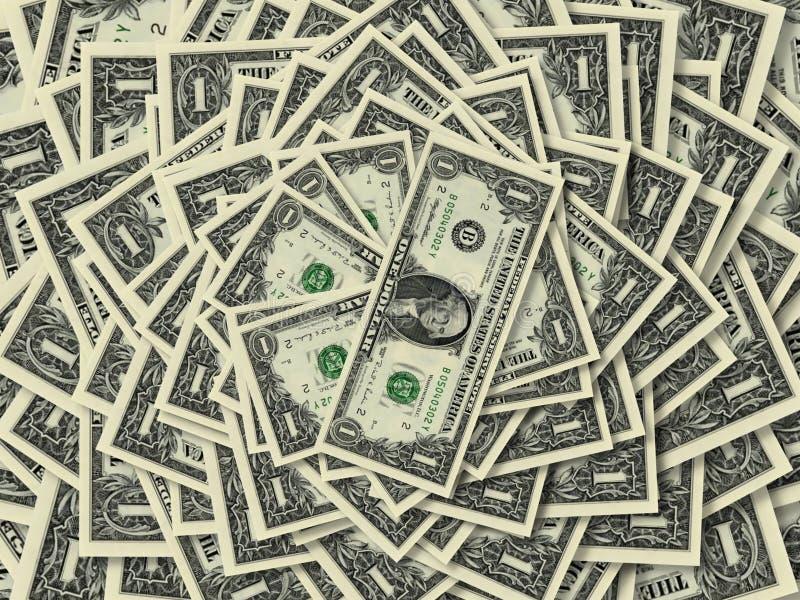 Dollar Ring lizenzfreie stockfotografie