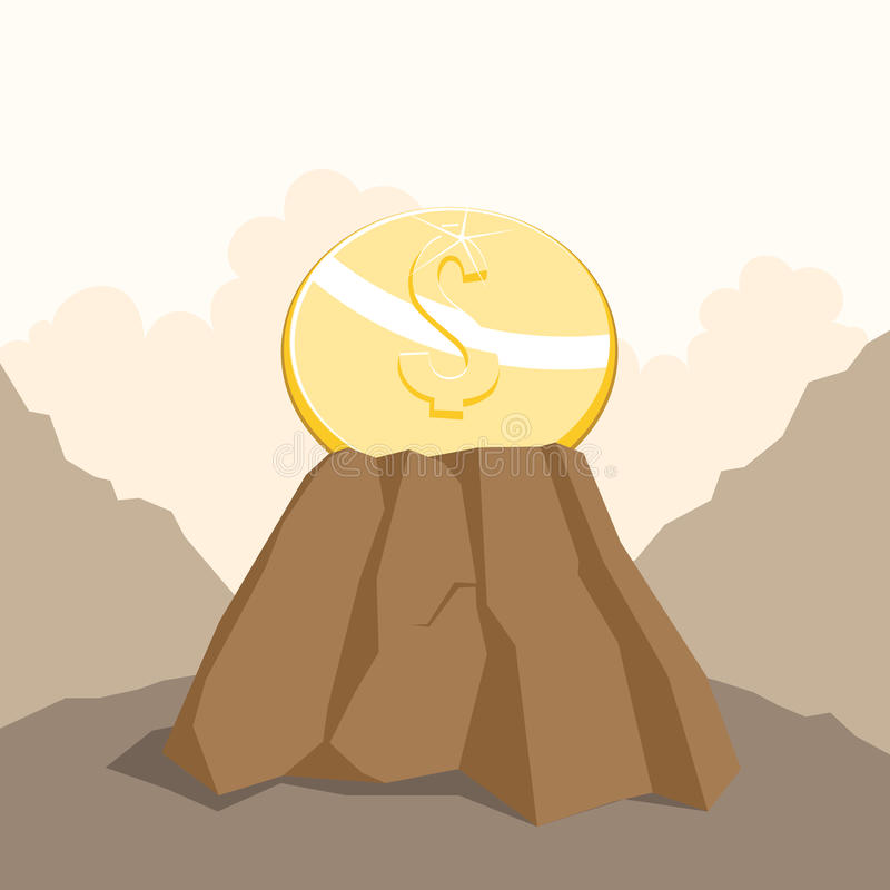 Dollar on the Rock
