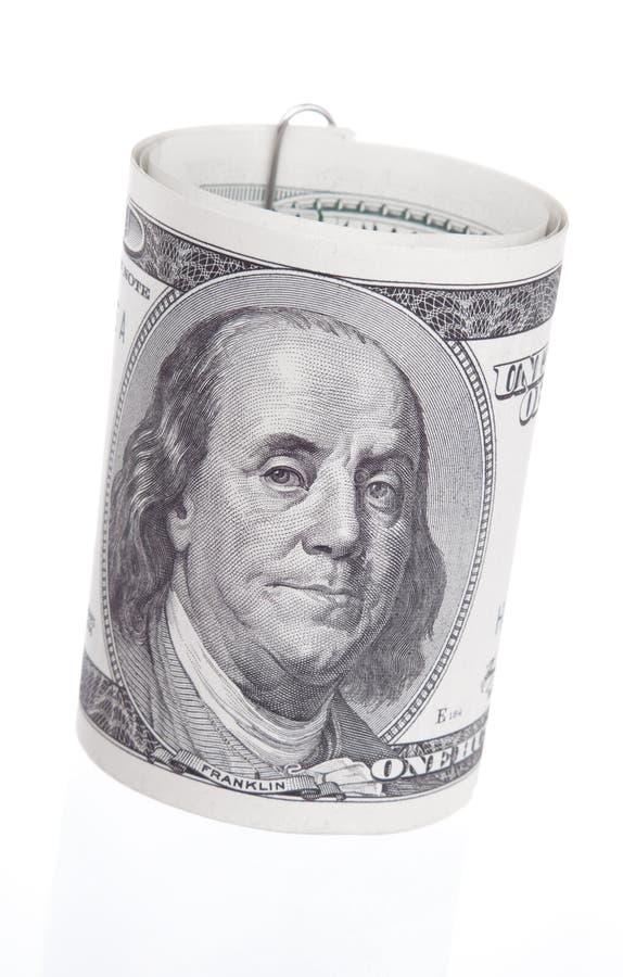 Dollar-Rolle stockbild