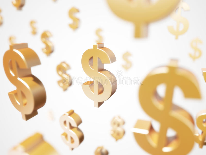 Download Dollar sign stock illustration. Image of business, uppercase - 23934862
