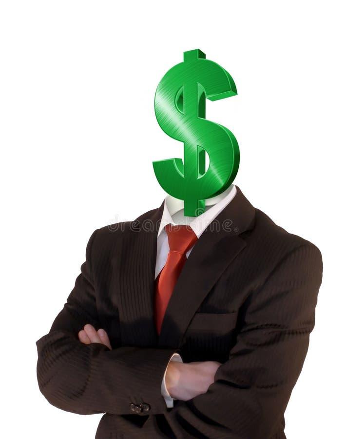 Download Dollar sign man stock image. Image of profit, sign, success - 2646613