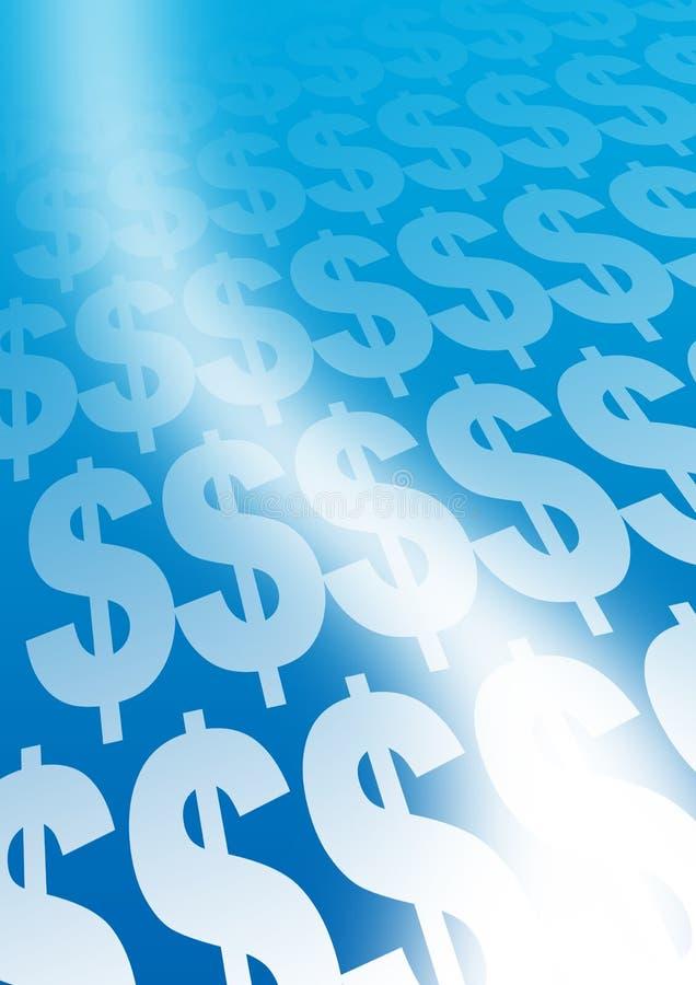 Dollar signs royalty free illustration
