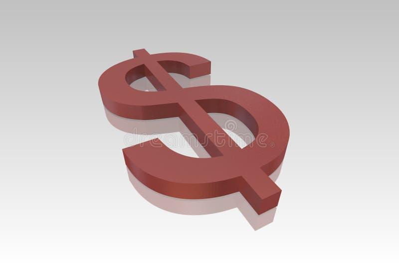 Dollar Symbol stock illustration
