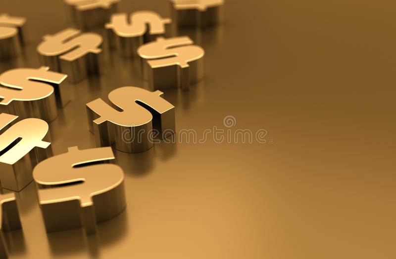 Download Dollar Symbol stock abbildung. Illustration von wirtschaftlichkeit - 26374445