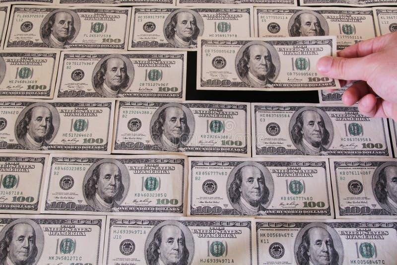 Dollar tegelstenar arkivfoton