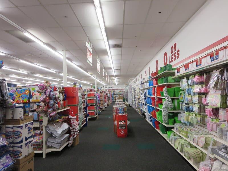 Dollar Tree Store stock image