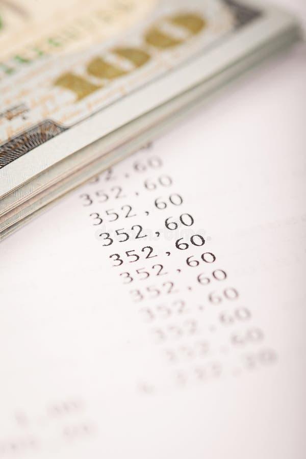 Dollar und Darlehens-Plan lizenzfreie stockfotos