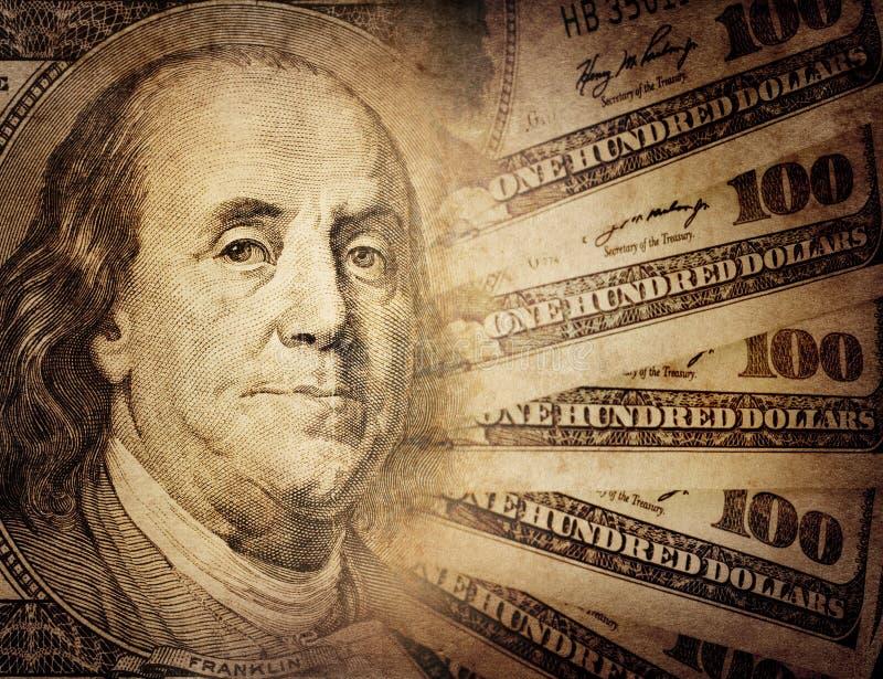 Dollar US de cru images stock