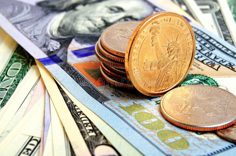 Dollar USA-Bargeld stockfotografie