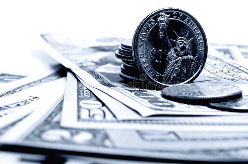 Dollar USA-Bargeld lizenzfreie stockbilder