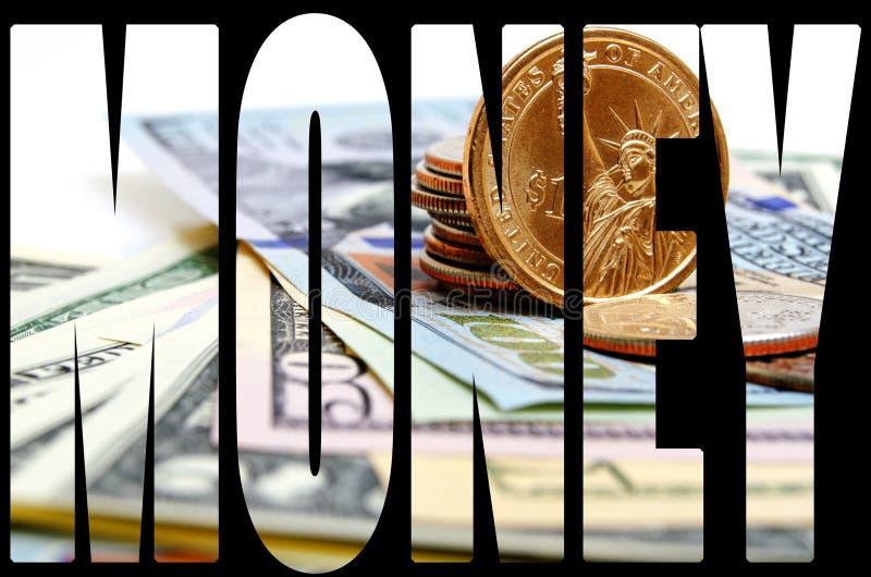 Dollar USA-Bargeld stockfoto