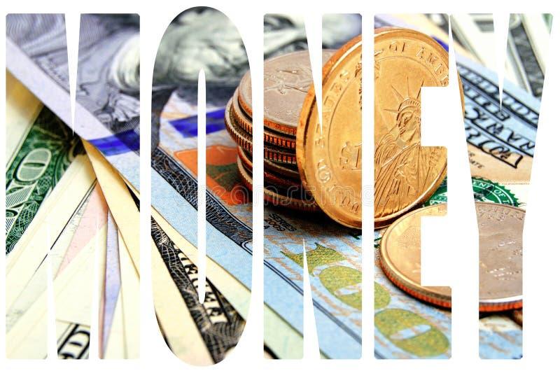 Dollar USA-Bargeld stockbild