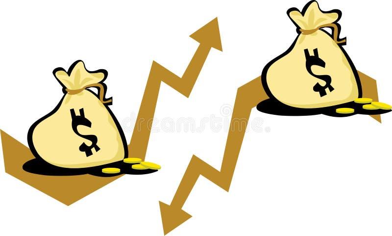 Download Dollar value stock illustration. Image of down, background - 13788432