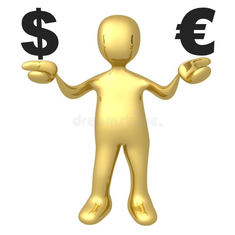 Download Dollar Vs Euro Royalty Free Stock Image - Image: 17905666