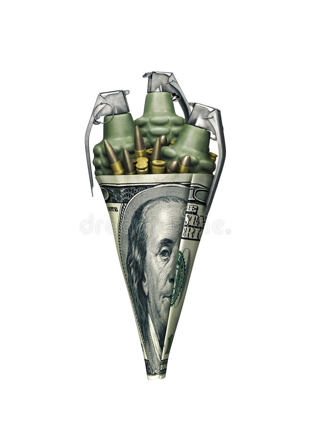 Free Dollar War Cone Stock Photography - 67361992