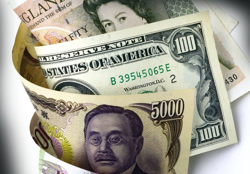 Download Dollar, Yen and Pound stock image. Image of trade, dollar - 7356329