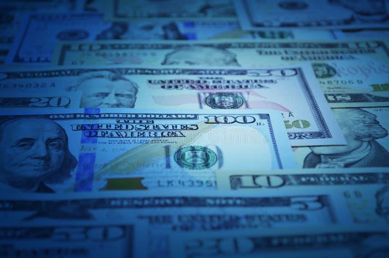 Dollarbanknotengeld für Hintergrund lizenzfreies stockfoto