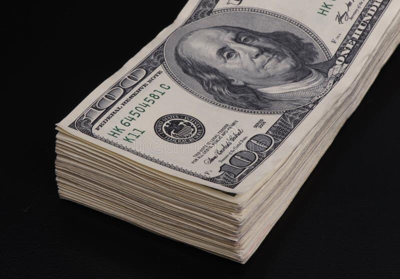 Dollarbunt För 100 Bills Royaltyfri Bild