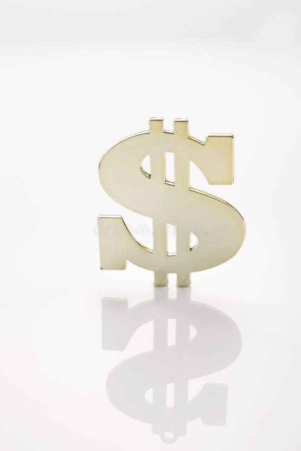 Dollaren undertecknar royaltyfria foton