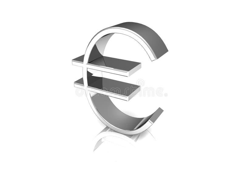 dollareurosymbol royaltyfri bild