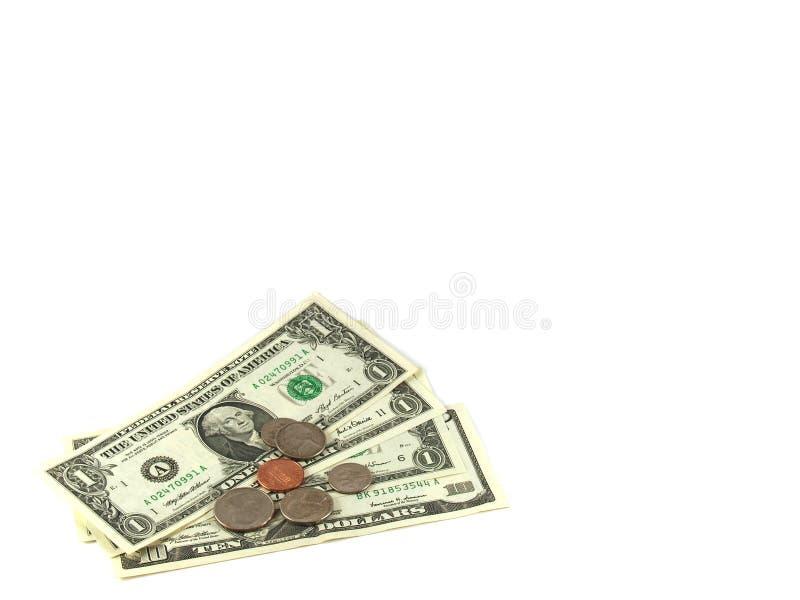 Download Dollari immagine stock. Immagine di quarto, moneta, isolato - 7316137