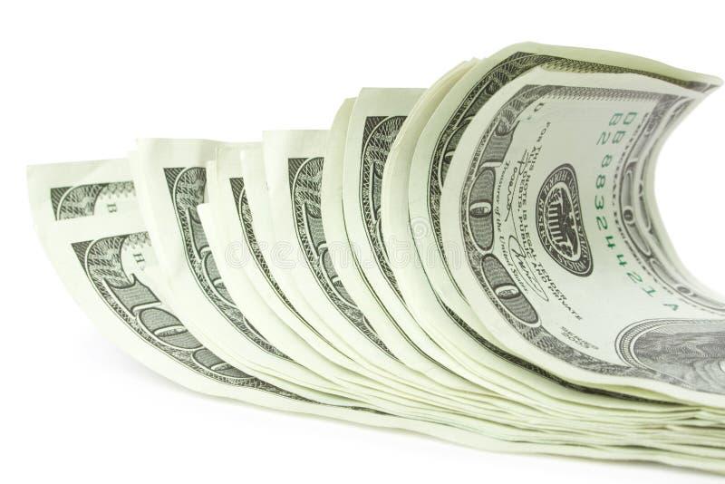 Dollari dei soldi fotografie stock libere da diritti
