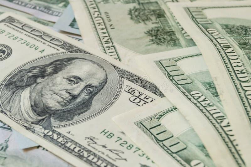 Dollari dei soldi fotografia stock libera da diritti