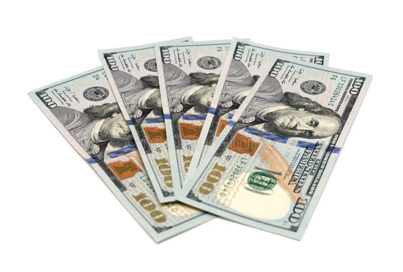 Dollari dell'americano dei contanti fotografie stock