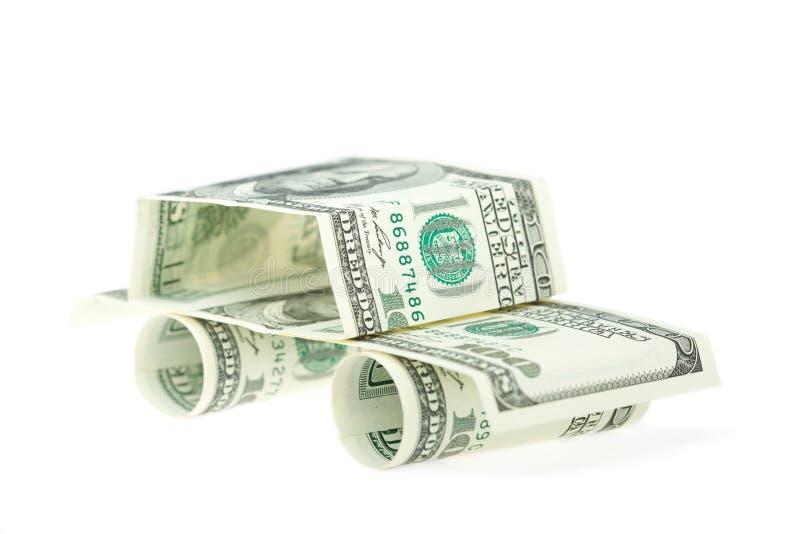 Dollari dell'automobile immagine stock libera da diritti