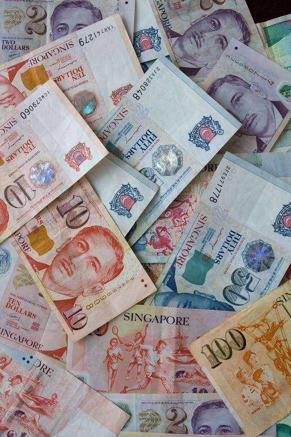 Dollari di Singapore fotografie stock libere da diritti