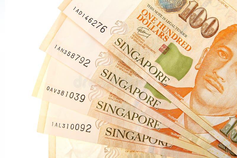 Dollari di Singapore fotografia stock
