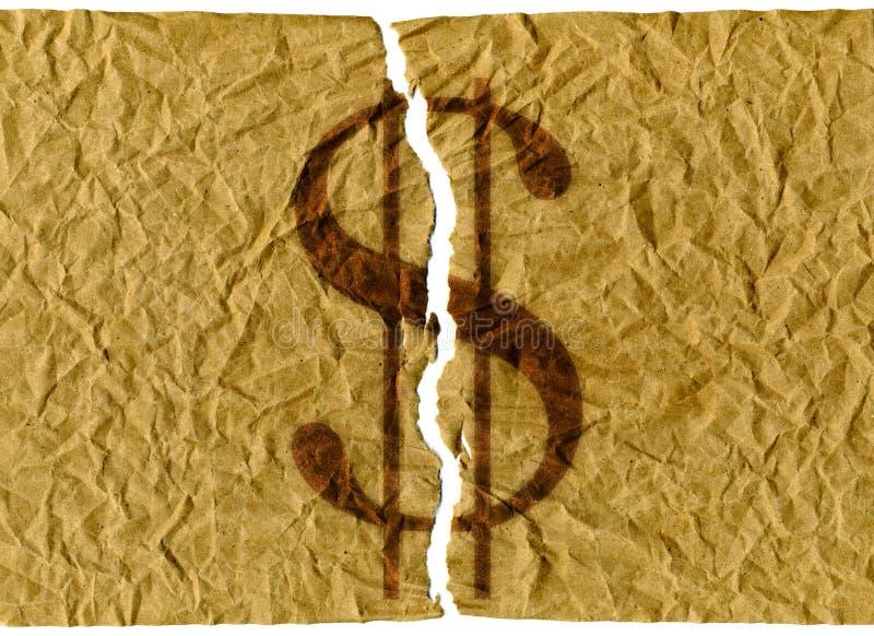 Dollari di Stati Uniti violenti royalty illustrazione gratis