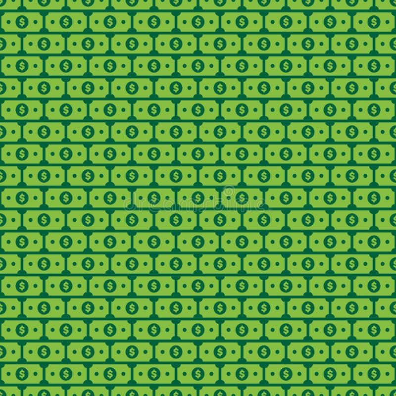 Dollaro Bill Illustration di vettore illustrazione di stock