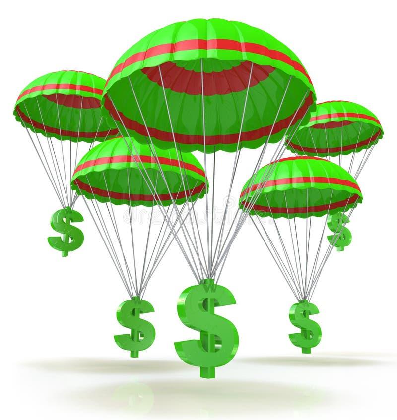 Dollaro di salvezza illustrazione vettoriale