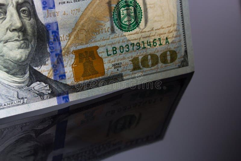 Dollarräkningar royaltyfri bild
