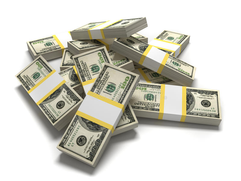 Dollars illustration de vecteur