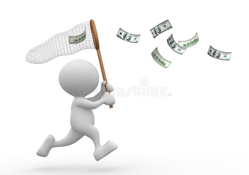 Dollars stock illustratie