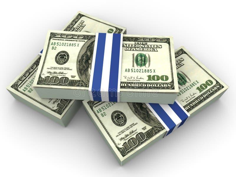 Dollars illustration stock